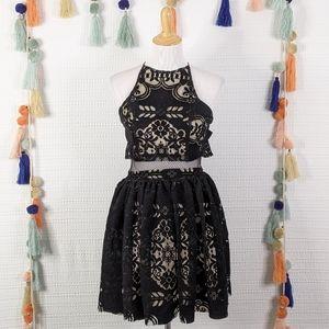 ASOS Velvet Mini Dress
